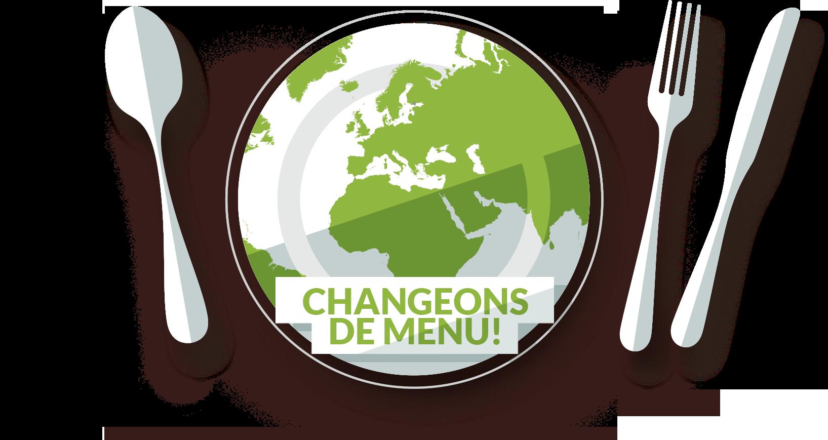 Changeons de menu